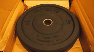 Rogue-Hi-Temp-Bumper-Plate-Boxed
