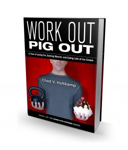 Work Out Pig Out 3D Cover